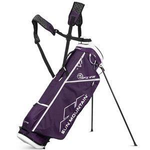 Sun Mountain 2 Five Golf Stand Bag Carry Two 5 Lightweight 2017 Purple/White New