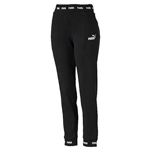 Tr Jogging De Femme Pants Amplified Pantalon Puma Cotton Cl Black Sweat qgUwat