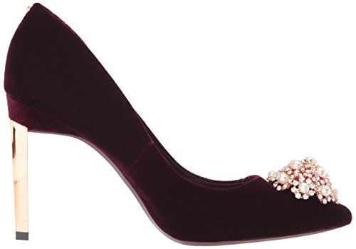 Ted Peetch Baker Pump Burgundy Women's TErTx8waqS