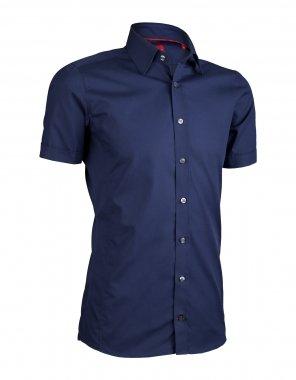 promo code 3f093 c0d76 Pure Hemd bügelfrei Slim Fit Kurzarm -dunkelblau-, XXL (45 ...