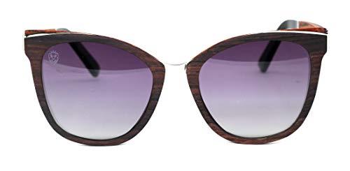 Óculos De Sol De Madeira E Metal Moccia, MafiawooD