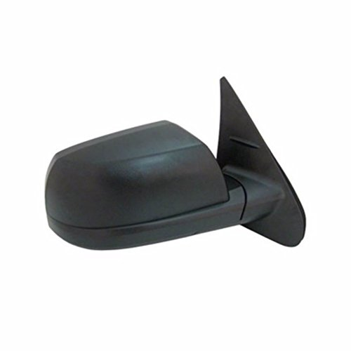 Passenger Side Power Door Mirror For Toyota With Heated Glass Textured Mirr RH Pwr Htd 14-16 Tundra Standard Style (Mirr Door)