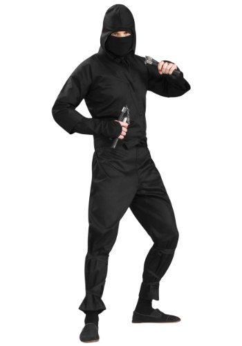 Forum Novelties Ninja Costume X-Large X, Multi Color