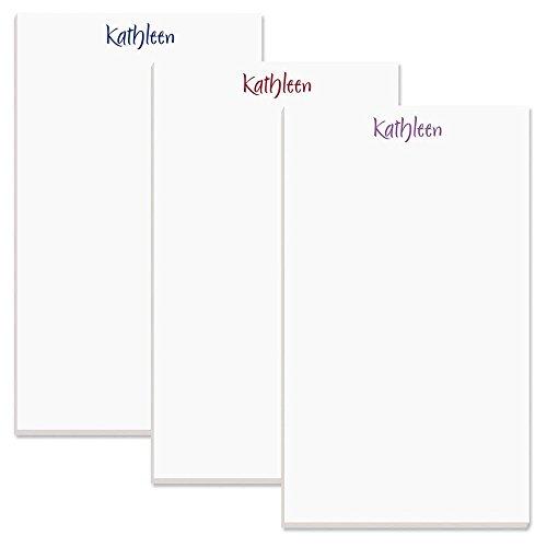 Elegant Personalized Notepad - 1 pad, 50 Sheets, Large 5