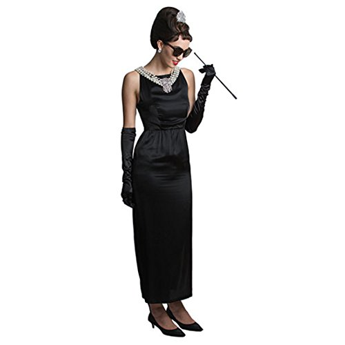 Audrey Hepburn ''Breakfast at Tiffany's'' Complete Costume Set - Satin Version (S) w/Gift Box by Utopiat (Image #4)