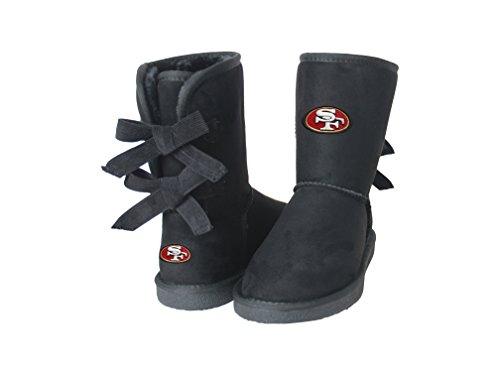 NFL San Francisco 49ers Women's Patron Boots, 11, Black