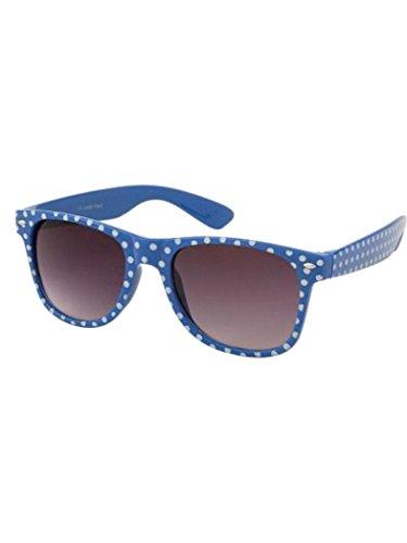 50 style Bleu soleil Lunettes Rockabilly de nbsp;points HSwPBHq0x