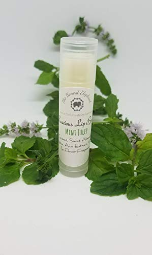 The Honest Elephant Lucious Lip Balm, Bee Free with Candellila Wax - Mint -