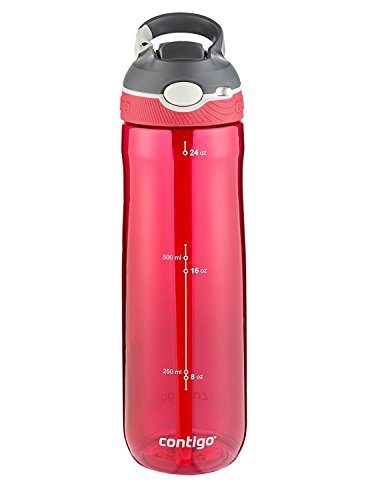 - Contigo Autospout Ashland Water Bottle, 24oz , Sangria
