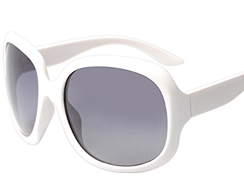 ATTCL Women's Oversized Women Sunglasses Uv400 Protection Polarized Sunglasses,3113 white