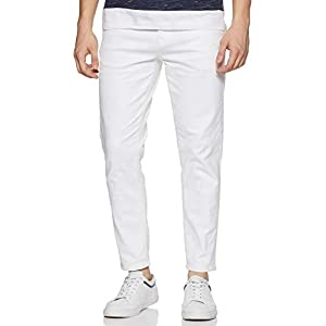 Flying Machine Men White Jeans