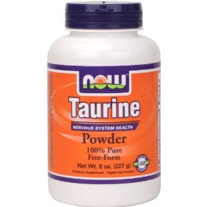 Now Foods Taurine Powder, 8 oz (Pack de 2)