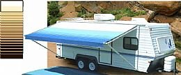 RV Replacement Awning Fabric 18 Foot Sierra Brown