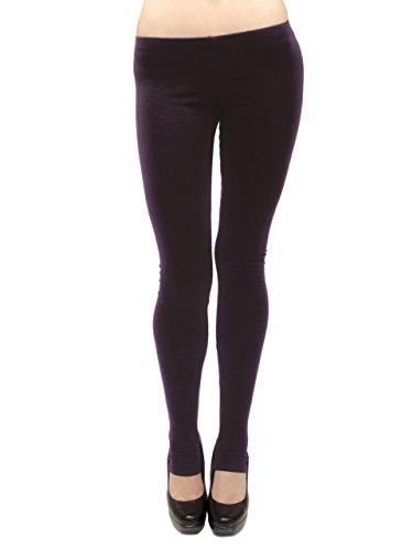 ng Leggings - Cotton/Stirrup, Junior Size (Brown, 3X) ()