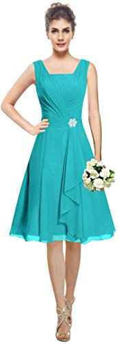 MaliaDress Women's Square Chiffon Bridesmaid Dress, used for sale  Delivered anywhere in Canada
