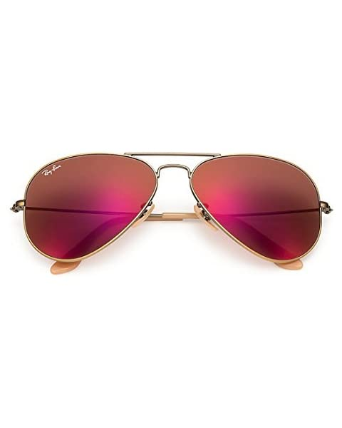 f571b1645e Authentic Ray-Ban Aviator RB 3025 167 2K Demiglos Brushed Bronze Red Mirror