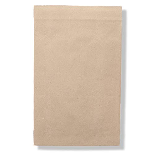 (Jiffy Padded Mailer - Self Seal, All-Purpose Self-Seal Closure, 100% Recycled Paper Fibers, Cushioning Protection, 100% Recyclable (#1, 7-1/4 x 12, Natural Kraft, Pack of 100) - Sealed Air)