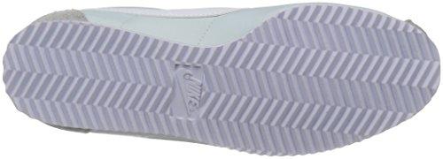 Nike Damen Classic Cortez Nylon Sneaker Elfenbein (Pure Platinumwhite)