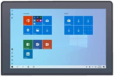 Avita Magus II [WT9M10C44] 10 Inches Intel Celeron 4GB RAM 64GB Storage Touch 2-in-1 Windows 10 Tablet PC (Black)