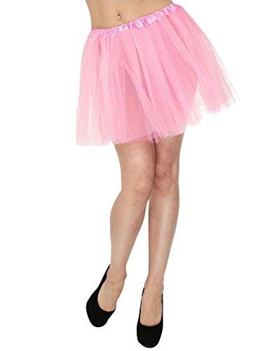 Tulle Courte Costume Mini 3 Couche YouPue Jupe De Danse Rose Jupe jupe Ballet Femme Tutu Princesse Jupon qwXTnHt