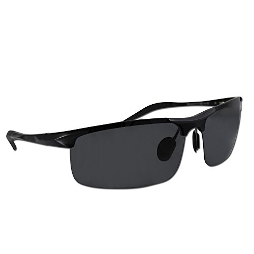 Eye Love Polarized Fishing Sunglasses for Men, Made w/ Light, Military-Grade, Unbreakable Metal