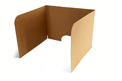 Classroom Products Computer Privacy Shield 19 Inch Tall - Kraft - (Pack of 10) -