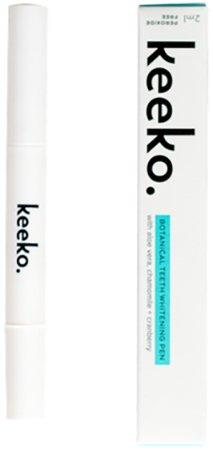 Keeko - All Natural Botanical Teeth Whitening Pen (Peroxide Free)