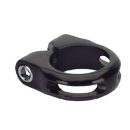 (MTB-Tk Seat Clamp with Bolt 28.6mm Black)