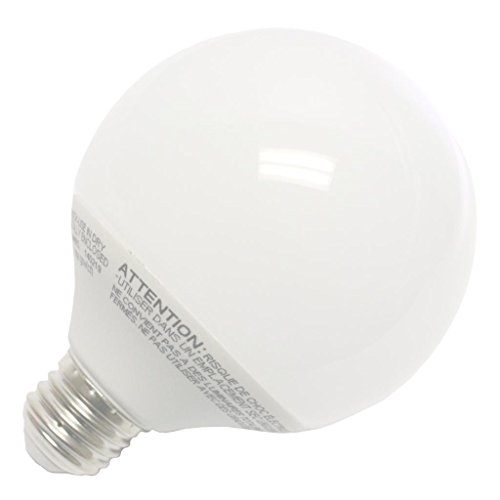 120v G30 Medium Screw - Halco 46533 - CFL16/50/G30 Globe Screw Base Compact Fluorescent Light Bulb