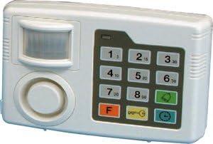 Alarma de seguridad por infrarrojos con control de movimiento y teclado digital para hogar
