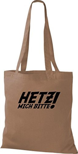 Shirtinstyle - Cotton Fabric Bag Women - Caramel