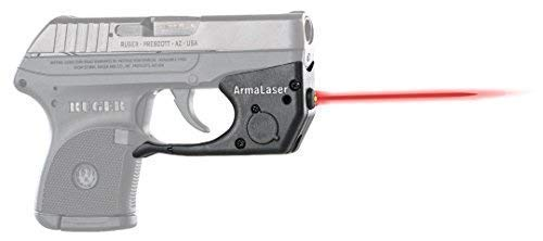 ArmaLaser Ruger LCP TR2 Super-Bright Red Laser Sight with Grip Activation