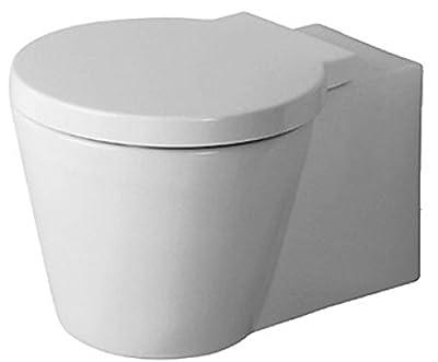 Duravit 02100900921 Starck Wall Mounted Toilet, White