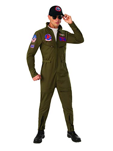 Top Gun Men's Jumpsuit Costume Large ()