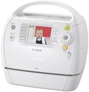 Amazon.com: Canon Selphy ES30 Compact Photo Printer (Blanco ...