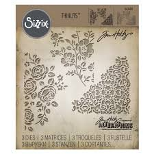 Sizzix Tim Holtz Thinlits Dies, Mixed Media #5, 662688