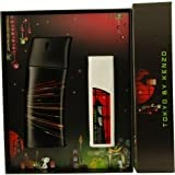 Kenzo Tokyo Gift Set for Men (Eau De Toilette Spray, Perfumed Shower Gel)