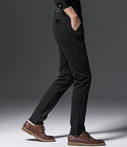 Comode 38 Black A Classici Abiti Casual color Chino Taglie Leisure Suit Size Business Autunno Hx 3 Da Primavera Slim Uomo Pantaloni Fashion Gamba Dritta qgwvR