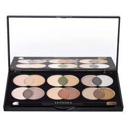 Sephora Collection Mixology Sweet & Warm with 18 Color-Coordinated Nude Matte and Shimmer Shades