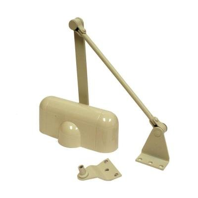 Universal Hardware Light-Duty Aluminum Residential Hold-Open Door Closer UH4011 by Universal Hardware