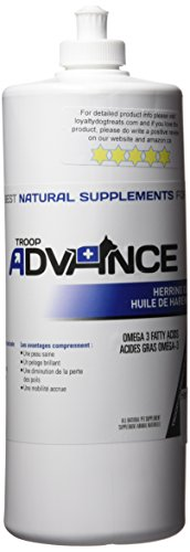 32oz, Troop Advance Canadian Herring Oil, w/ Vitamin, used for sale  Delivered anywhere in Canada