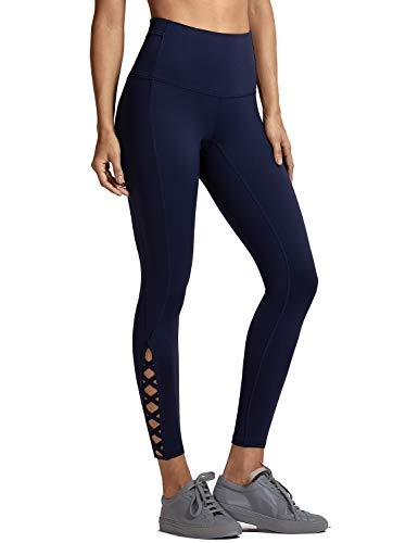 8bda9d7d73918 CRZ YOGA Women's High-Waist Tight Tummy Control Sports Yoga Jogger Lounge  Legging 25