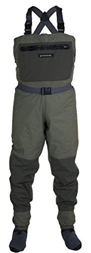 (Compass 360 Deadfall Breathable STFT Chest Wader, Small)