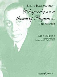 Boosey and Hawkes Rhapsody on a Theme of Paganini, Op. 43 Boosey & Hawkes Chamber Music Series by Sergei Rachmaninoff