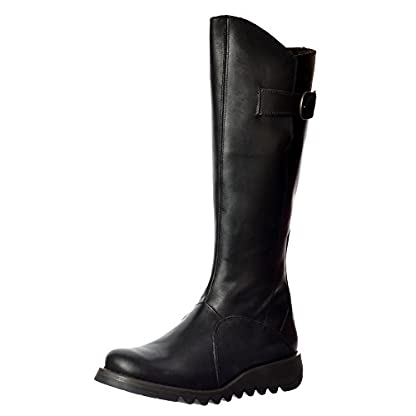 Fly London Women's Mol Warm Wedge Boots 1