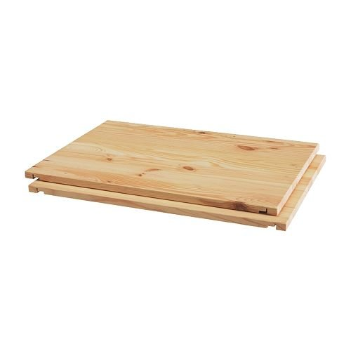 Ikea TROFAST - Shelf, pine / 2 pack - 30 cm
