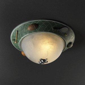 Justice Design Group Kid's Room 2-Light Flush-Mount - Ceramic Shade by Justice Design Group Lighting