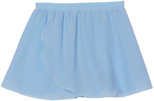 girls ballet skirt light blue - 8