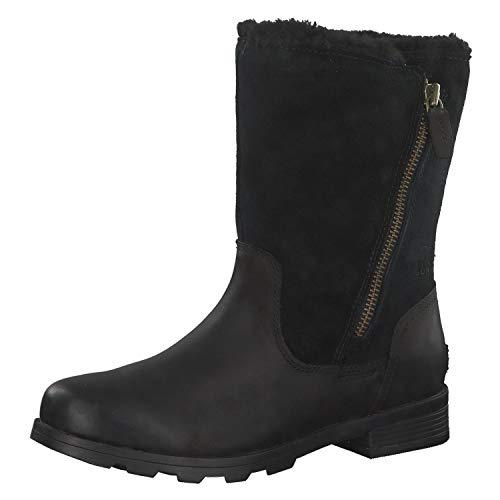 - Sorel Women's Emelie Foldover Boot Black (7.5)