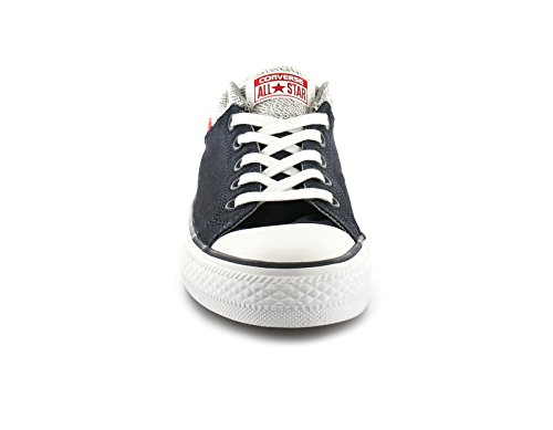 Neuf Pour Hommes/pour Nay/Blanc/Rouge Converse 'Moulante Carton' Chaussures - Marine/blanc/rouge - TAILLES UK 7-11